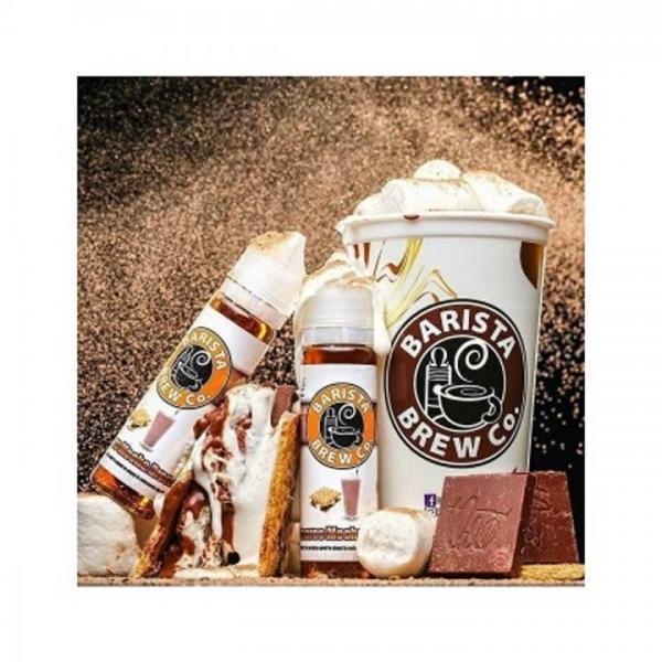Barista Brew Co. SMORES MOCHA BREEZE 50ml OVERDOSED E-Liquid made in USA