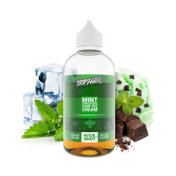 DRIP HACKS Mint Chocolate Chip Ice Cream Aroma 50ml