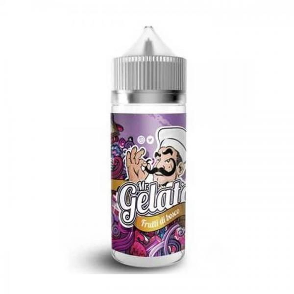 Mr Gelato FRUTTI DI BOSCO (Waldfrucht, Vanilleeis) 100ml OVERDOSED - E-Liquid made in UK