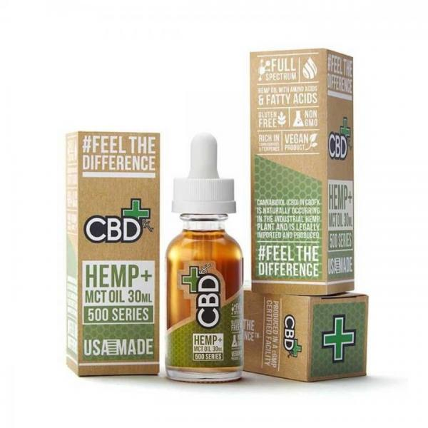 CBD Tincture - 500mg - 30ml - 100% Vegan