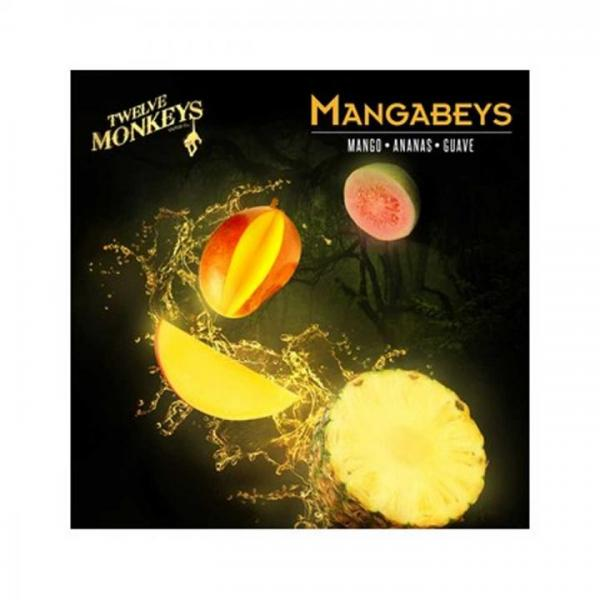 12 Monkeys 3 x 10ml MANGABEYS