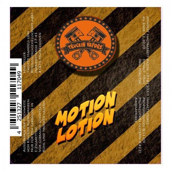 Twisted - Truckin Vaporz - Motion Lotion 0mg/ml 40ml
