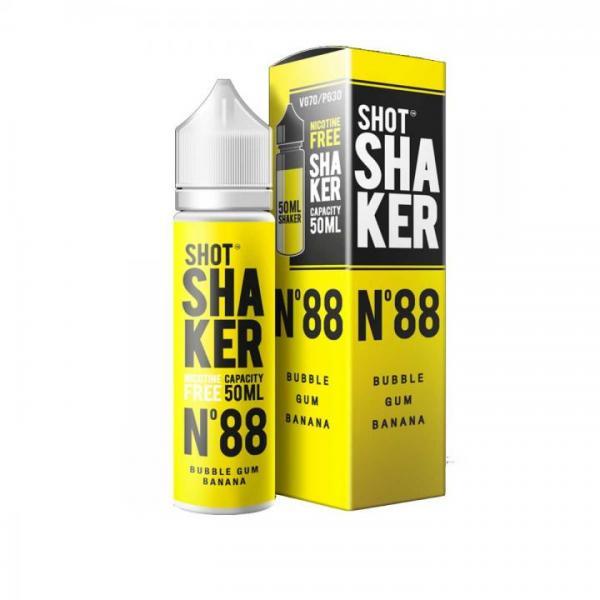 Shot Shaker N°88 Kaugummi Banane 50ml