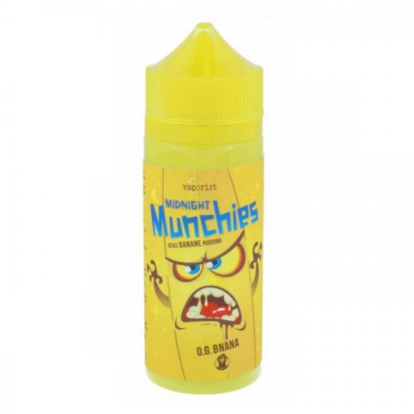 Vaporist - Midnight Munchies - O.G. BNANA - 100ml - 0mg