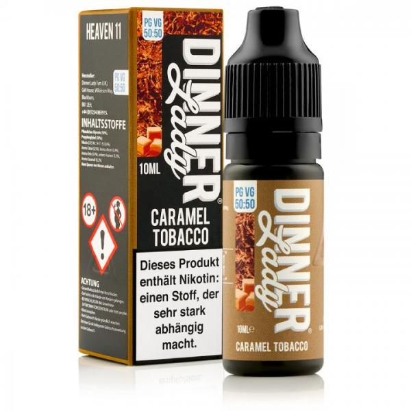 Dinner Lady Caramel Tobacco Liquid 50/50 Mischung