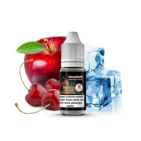 KIRSCHLOLLI Apfel Kirsch Cool Nikotinsalz Liquid 10ml