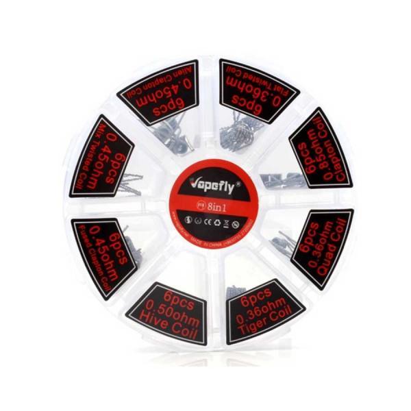 Vapefly 8 in 1 Fertigcoil Set