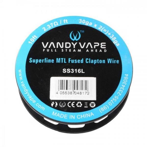 Vandyvape SS316L superfine MTL Spule