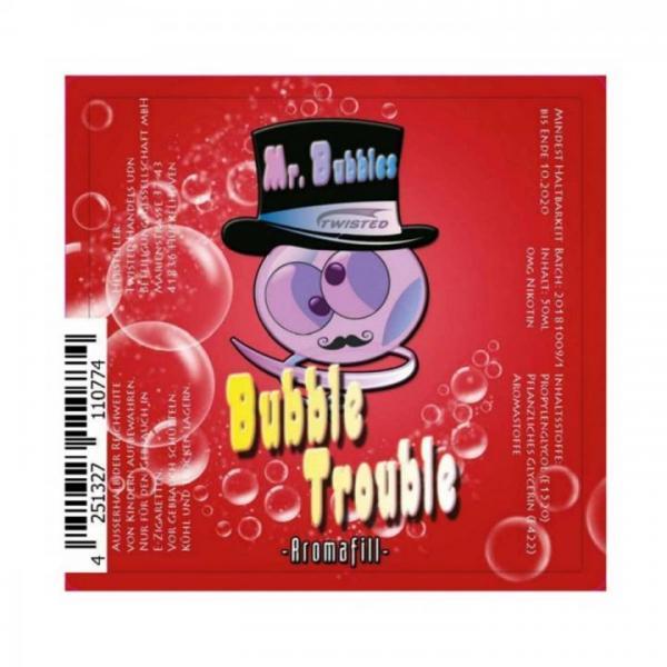 Twisted - Mr. Bubbles - Bubble Trouble 0mg/ml 50ml