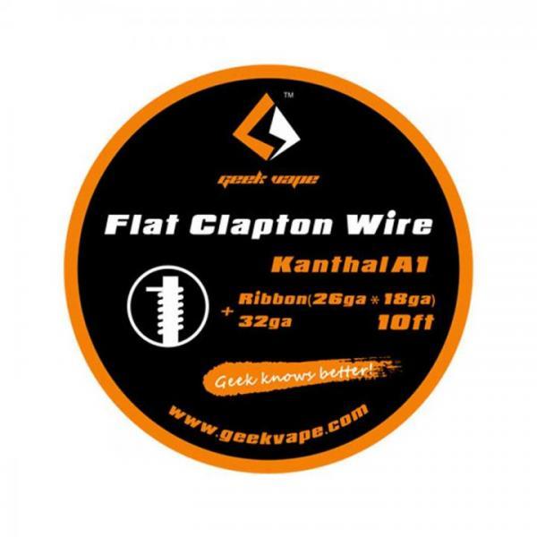 GeekVape Wickeldraht Flat Clapton KA1 26GA*18GA + 32GA 3m