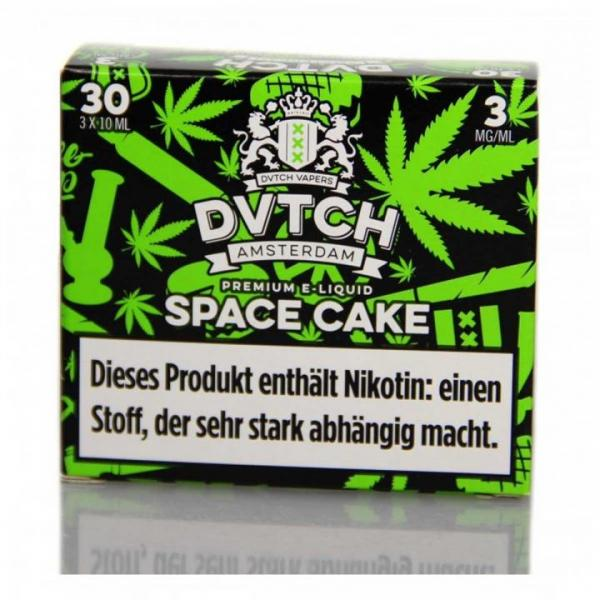 DVTCH Amsterdam - Space Cake (3x 10 ml)