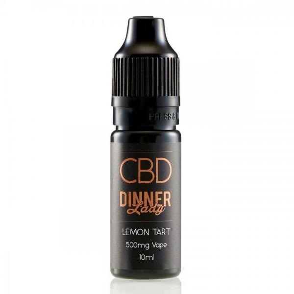 CBD E-Liquid Dinner Lady Lemon Tart 10ml 500mg