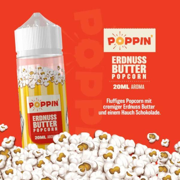 Poppin Erdnussbutter Popcorn 20ml