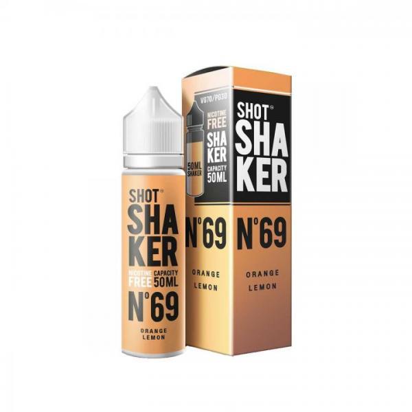 Shot Shaker N°69 Orange Zitrone 50ml, 70/30 High VG