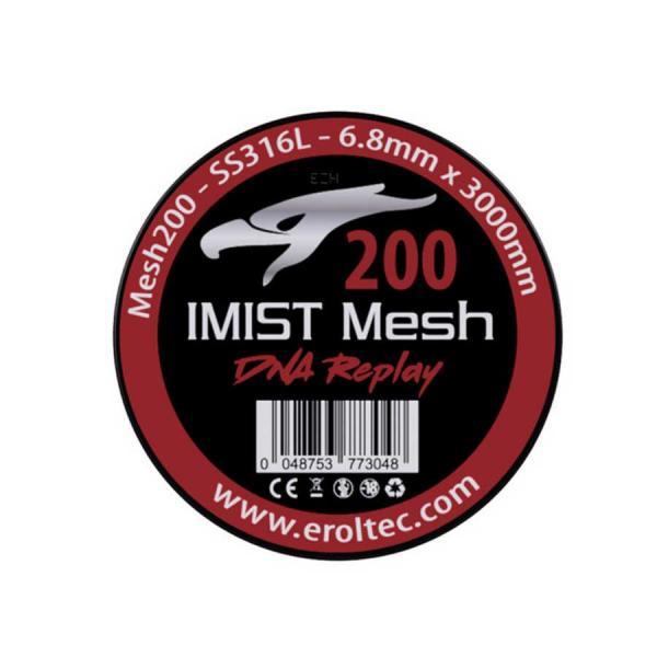 IMIST 3 Meter SS316L Mesh Wire 200