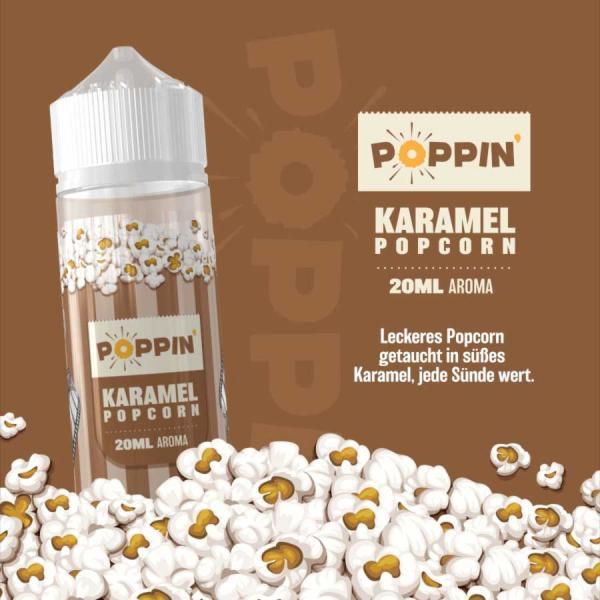 Poppin Karamell Popcorn 20ml