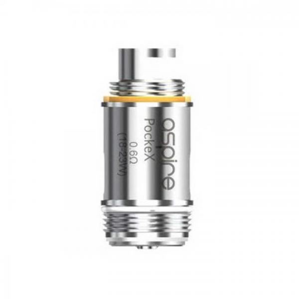 Aspire PockeX Köpfe 0,6 Ohm 5er Pack