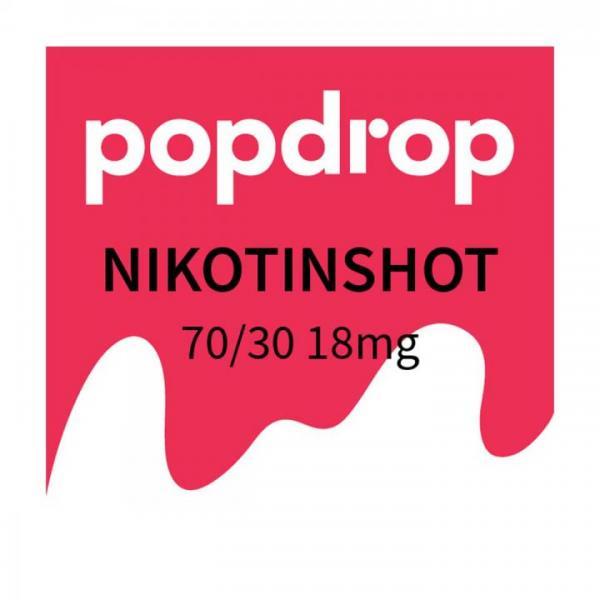 POPDROP Nikotin-Shot 70/30 18mg Nikotin