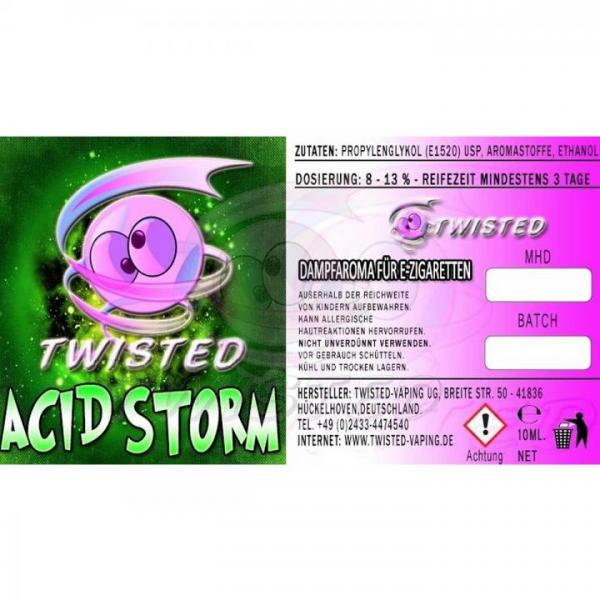 Aroma Twisted Acid Storm 10ml