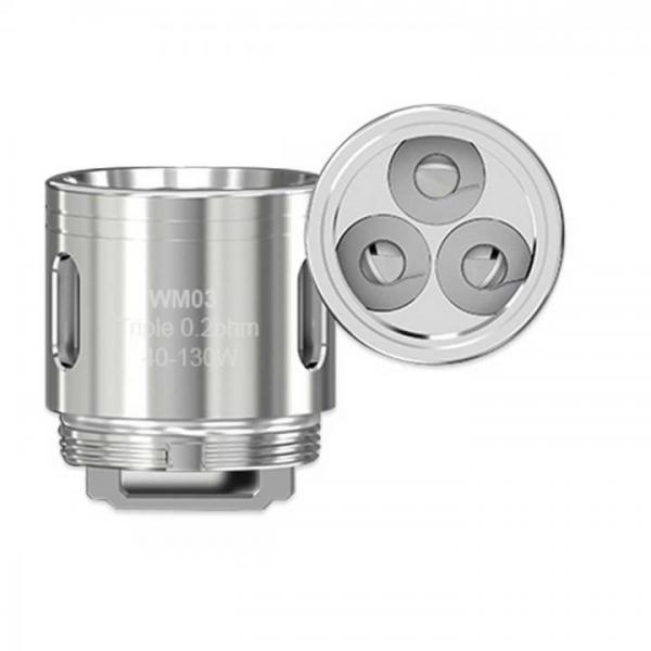 Steamax WM03 Triple Heads 0,2 Ohm (5 Stück pro Packung)
