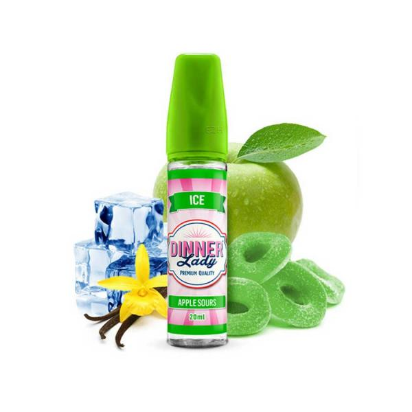 DINNER LADY Sweets Ice Apple Sours Aroma 20ml