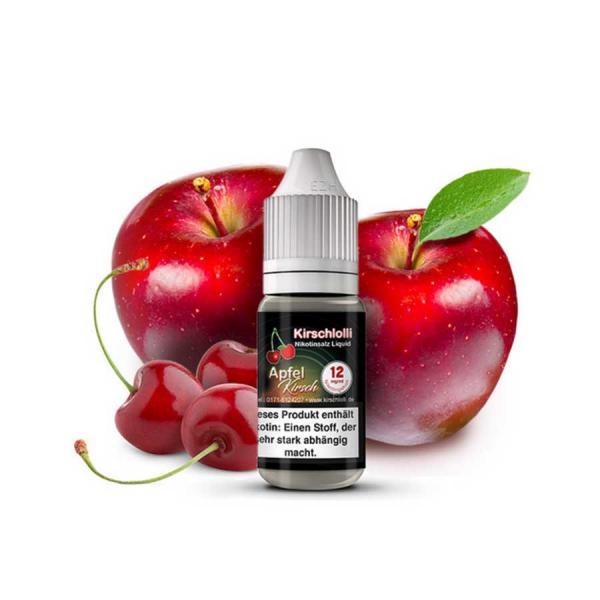 KIRSCHLOLLI Apfel Kirsch Nikotinsalz Liquid 10ml