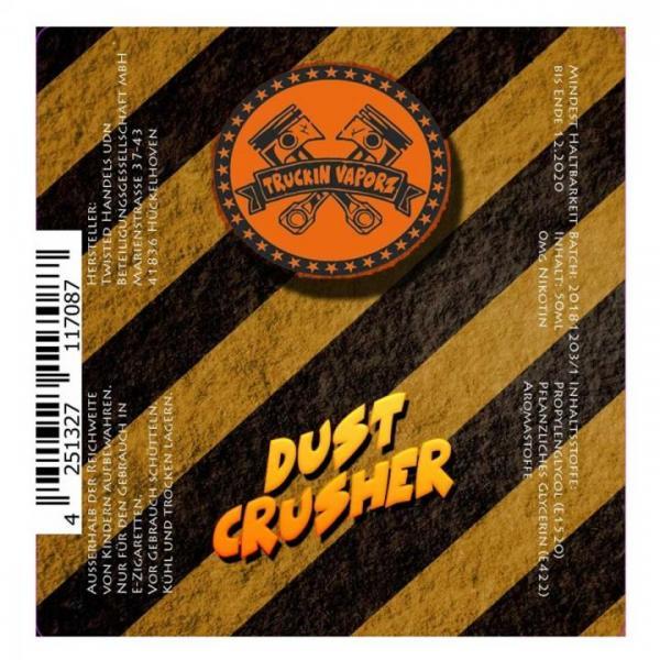 Twisted - Truckin Vaporz - Dust Crusher 0mg/ml 40ml