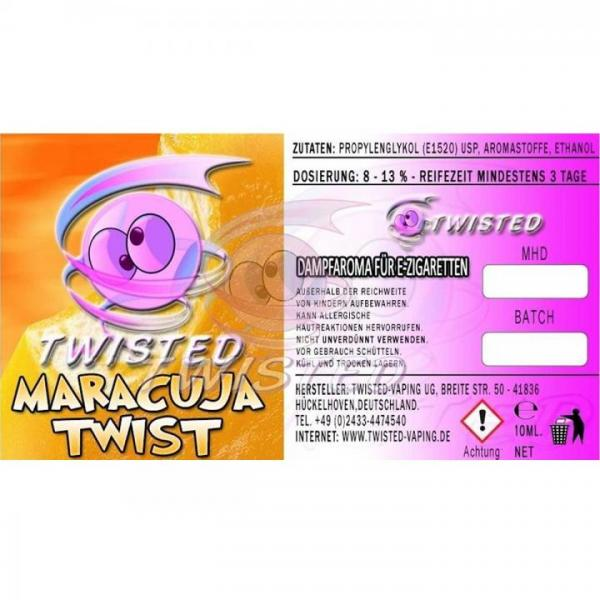 Aroma Twisted Maracuja Twist 10ml