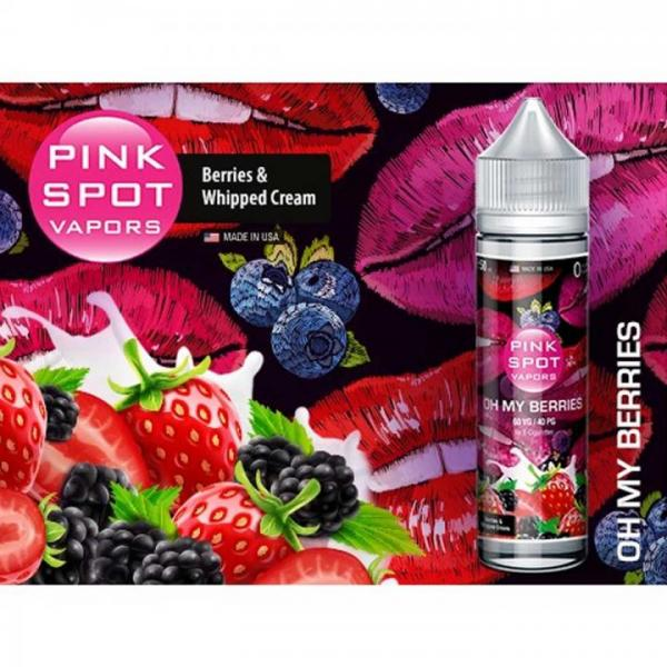 Pink Spot - Oh My Berries 50ml - 0mg/ml