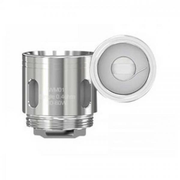 Steamax WM01 Single Heads 0,4 Ohm (5 Stück pro Packung)