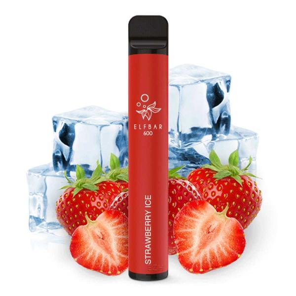 Dinner Lady Strawberry Ice Liquid 50/50 Mischung