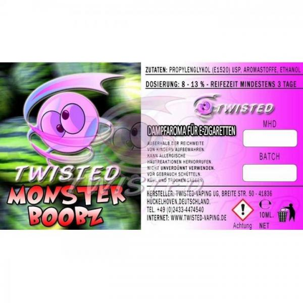 Aroma Twisted Monster Boobz 10ml